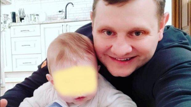 Киянин зняв погони, щоб сидіти вдома з сином: декрет для татуся