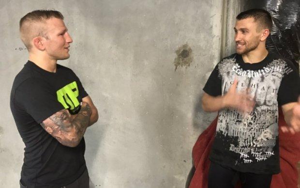 Ломаченко спаррингует со звездой UFC