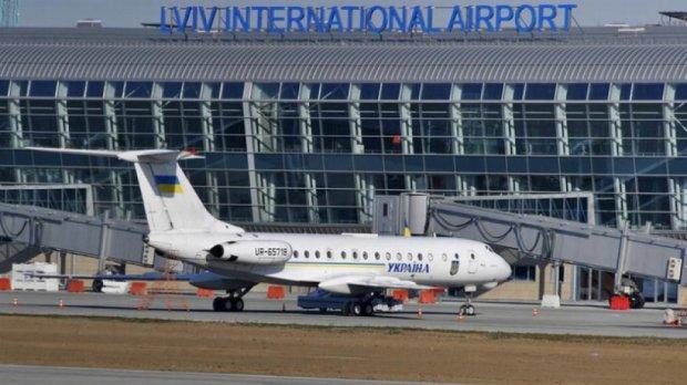 Львівський міжнародний аеропорт евакуювали