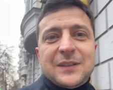 Скриншот с видео Зеленского