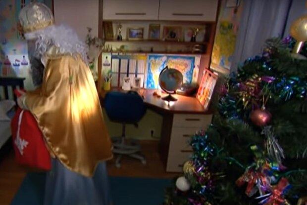 Святой Николай, кадр из репортажа ICTV, изображение иллюстративное: YouTube