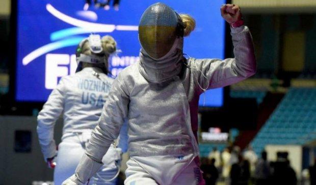 Українські шаблістки здобули срібло чемпіонату світу в Москві