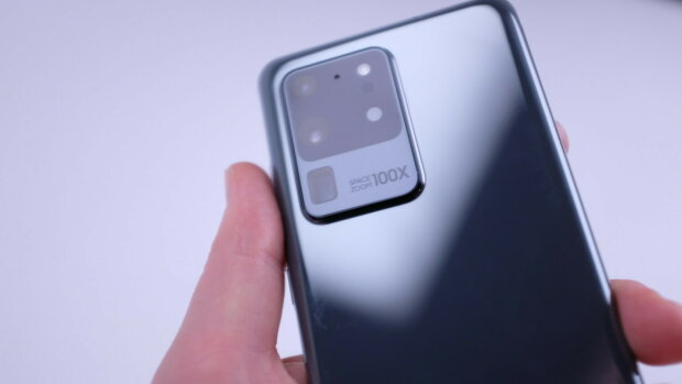 камера Galaxy S20 Ultra, фото TechCrunch