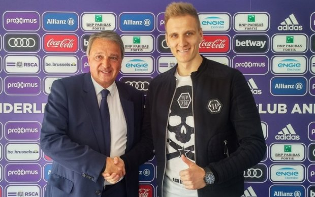 Андерлехт офіційно викупив у Динамо польського бомбардира