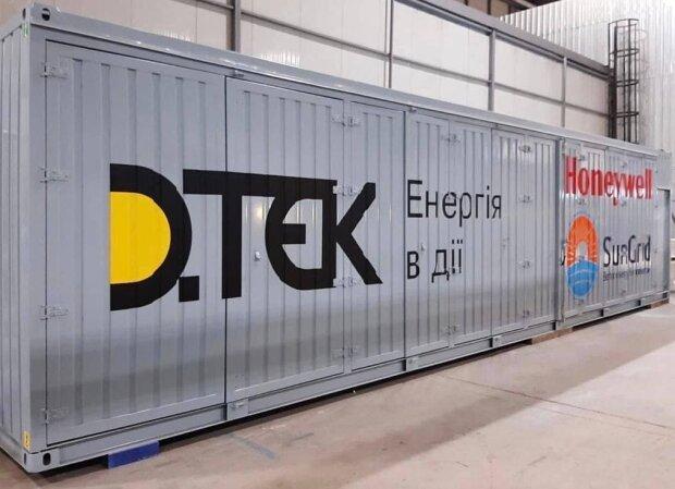 ДТЭК и Honeywell провели заводские испытания компонентов системы накопления энергии