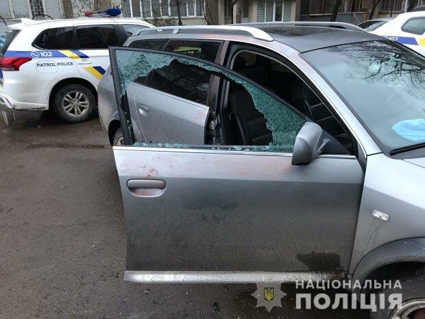 разбитое авто / фото: ГУНП