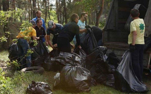 Наш город - в наших руках: убрали Землю от мусора