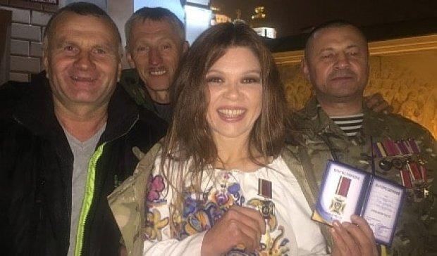 """Співачку і активістку Руслану нагородили """"Орденом честі"""" (фото)"""