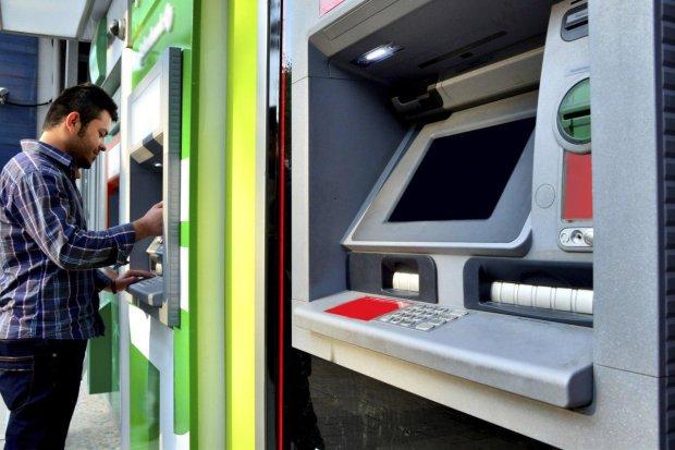 банкомат, гроші