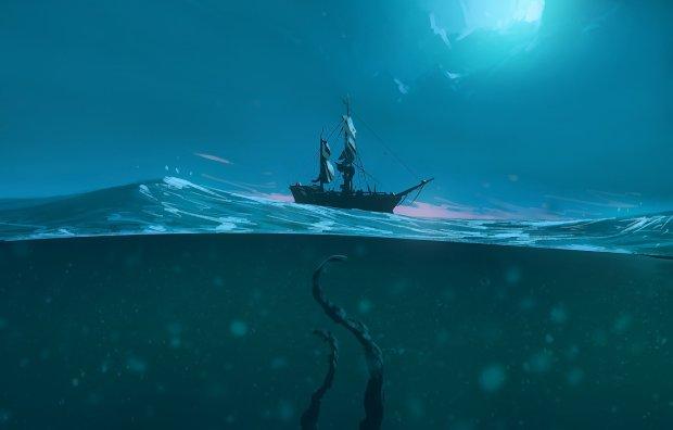 Пором зіштовхнувся з неопізнаним моторошним монстром: океани все ще сповнені таємничими живими істотами