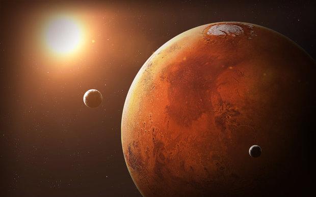 Марс атакуют десятки НЛО: в руки уфологов попало секретное видео