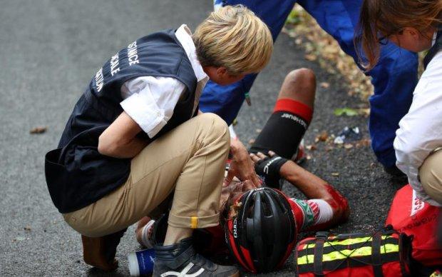 Тур де Франс: Два претенденти на перемогу знялися зі змагань через травми