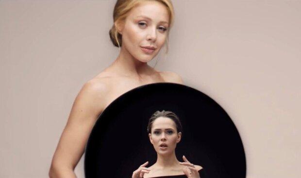 Тина Кароль и Юлия Санина / скриншот из видео