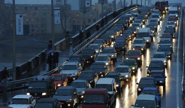 пробки в Киеве, NewsOne