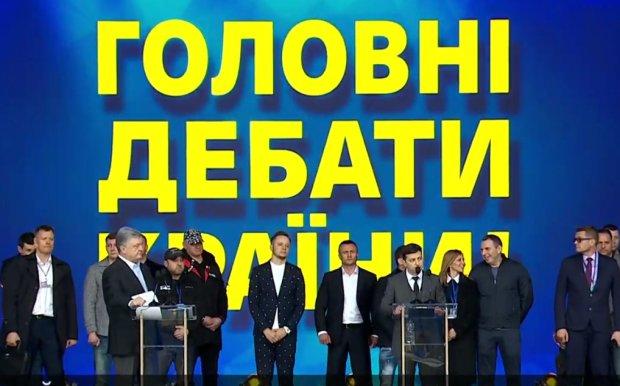 """дебати на НСК """"Олімпійський"""""""