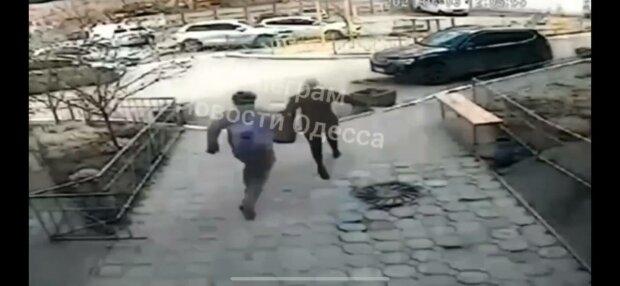 Чоловік побив сусідку, фото: Новини Одеси