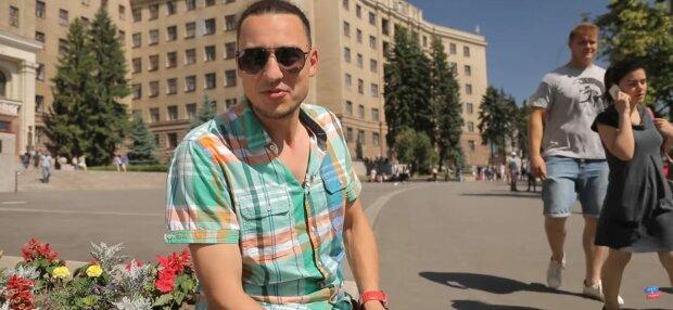 Євген Синельников, фото: скріншот з відео