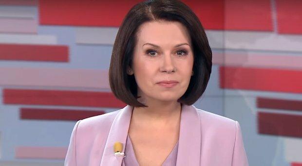 Телеведущая Алла Мазур, скриншот