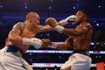 Бій Джошуа-Усик, фото: Твіттер Matchroom Boxing