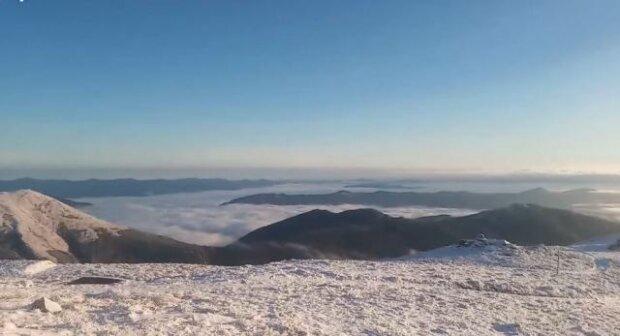 Карпаты, фото: скриншот из видео