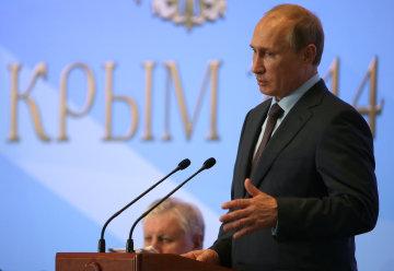 Путин раздаст медали оккупантам в годовщину аннексии Крыма
