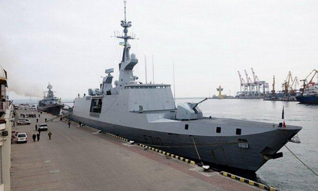 Французский фрегат прибыл в Одессу (фото)