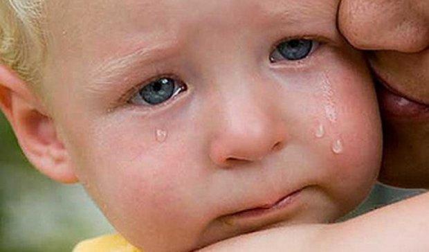 В Винницкой области младенец облился кипятком