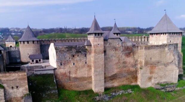 Хотинская крепость, скриншот: YouTube