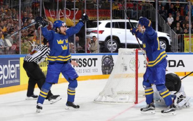 ЧС-2017 з хокею: Швеція розгромила Німеччину, Норвегія переграла Францію