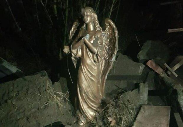 Бидлорукий киянин викинув на смітник святу пам'ять українців