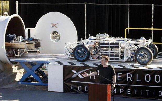 Ілон Маск оголосив про конкурс для Hyperloop