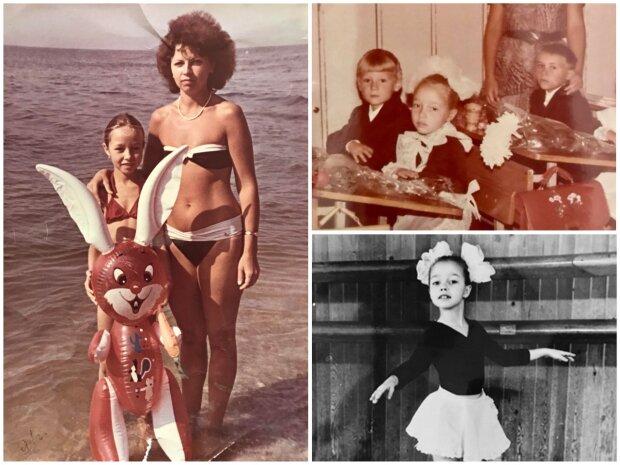 Катерина Кухар в дитинстві, фото з особистого архіву балерини
