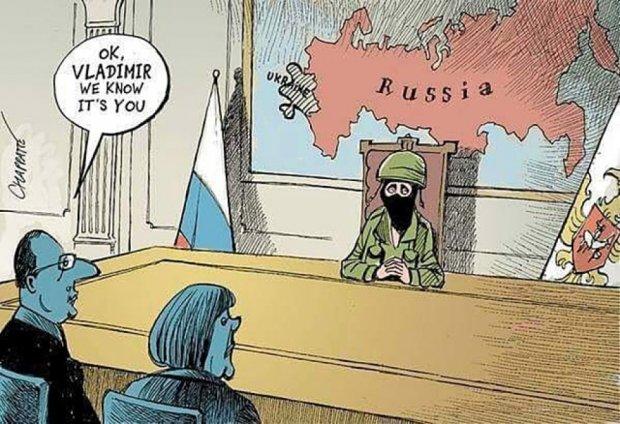 З'явились карикатури на переговори в Мінську