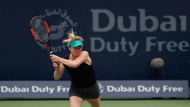 Свитолина разгромила Мугурусу и вышла в четвертьфинал самого фартового турнира