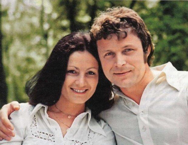 Софія Ротару з чоловіком. Фото: Вікіпедія.