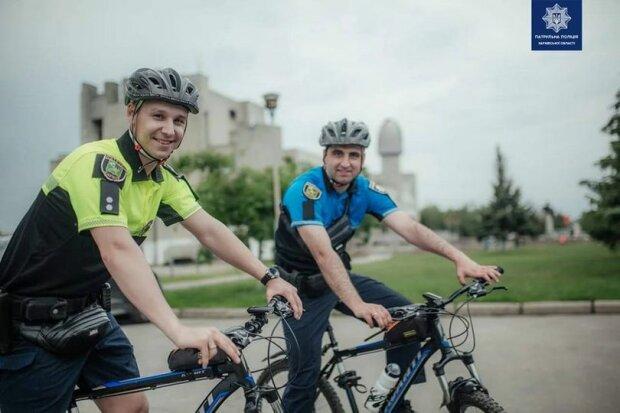 велопатруль, фото: Патрульна поліція