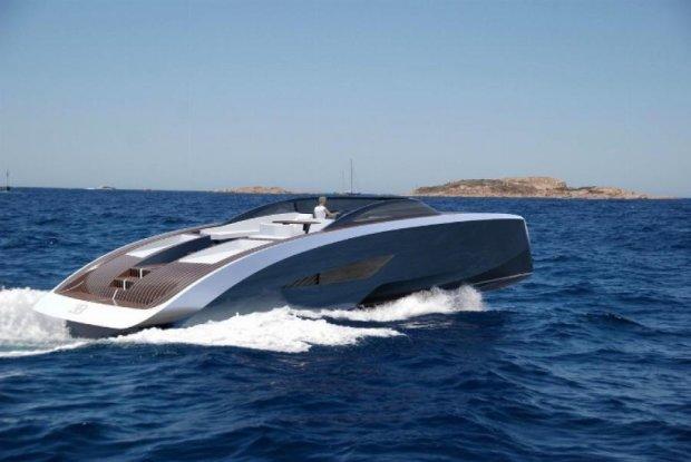 Яхта за два миллиона  долларов от Bugatti