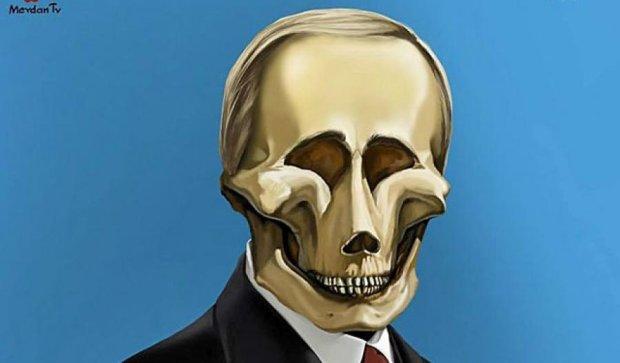 Черепа лидеров: Гитлер, Сталин, Путин (фото)