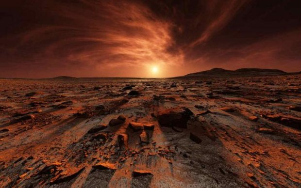 Невероятные пейзажи: NASA показала фото зимнего Марса