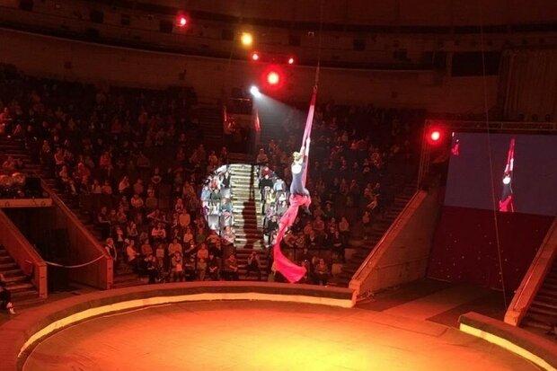 Гимнастка цирка, фото: denesen.mk