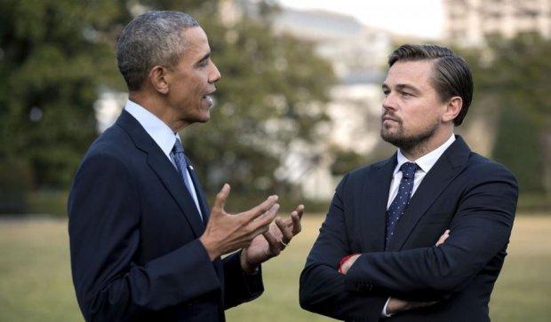 Обама поговорить з ДіКапріо про клімат