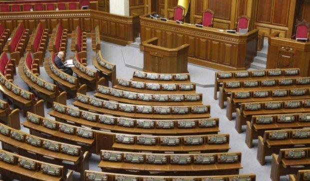 Депутати працюватимуть в Раді всього 4 дні жовтня