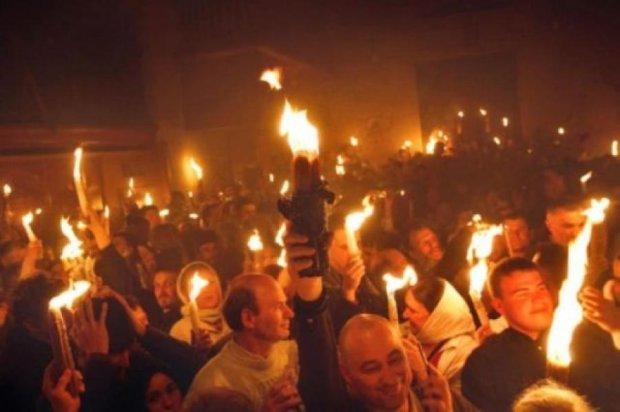 До Києва із Єрусалима прибуде Благодатний вогонь