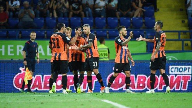 УПЛ: Шахтер перед игрой в Лионе забил шесть голов во Львове