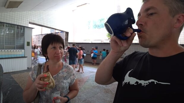 В Трускавце рекордно подорожает минералка - по цене шампанского