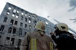 Пожежа у одеському коледжі, фото: 5 канал