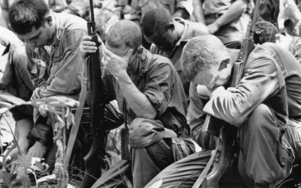 Український прапор знайшли на фото часів в'єтнамської війни