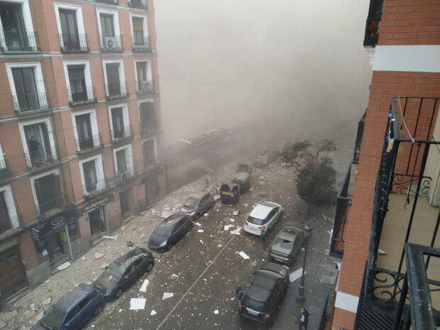 В Мадриде мощный взрыв