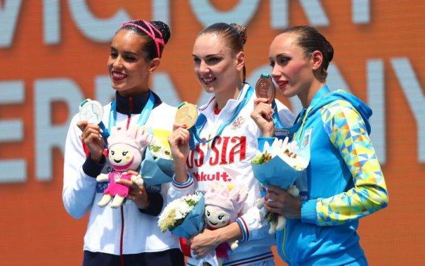 Українська синхроністка завоювала третю медаль Чемпіонату світу