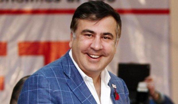Саакашвили зарегистрировал первый брак